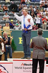 Mccutcheon Tom (USA) - Gunners Special Nite Winner Individual Final Reining<br /> Alltech FEI World Equestrian Games <br /> Lexington - Kentucky 2010<br /> © Dirk Caremans
