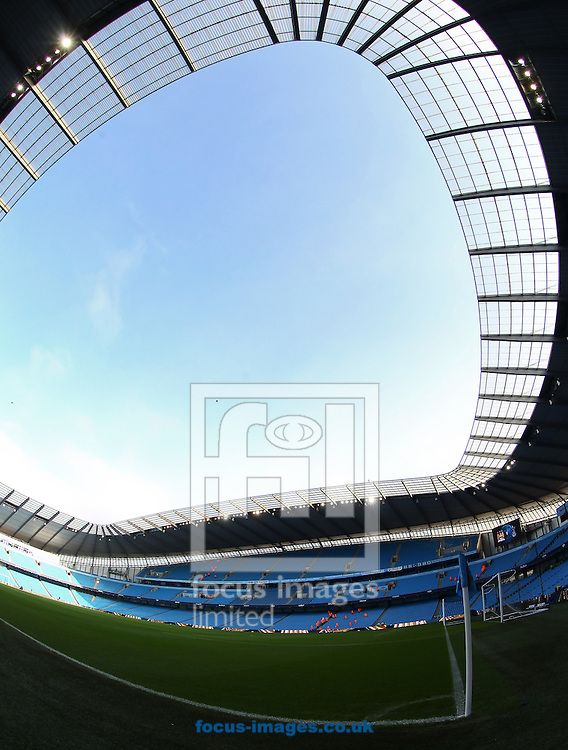 Picture by John  Rainford/Focus Images Ltd +44 7506 538356.11/11/2012.General view of the interior of the Etihad Stadium, Manchester.