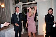 TIM JEFFERIES; MALIN JEFFERIES, Dinner to mark 50 years with Vogue for David Bailey, hosted by Alexandra Shulman. Claridge's. London. 11 May 2010 *** Local Caption *** -DO NOT ARCHIVE-© Copyright Photograph by Dafydd Jones. 248 Clapham Rd. London SW9 0PZ. Tel 0207 820 0771. www.dafjones.com.<br /> TIM JEFFERIES; MALIN JEFFERIES, Dinner to mark 50 years with Vogue for David Bailey, hosted by Alexandra Shulman. Claridge's. London. 11 May 2010