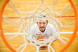 Sime Mrsa of Slovenian Deaf Basketball team at media day, on June 13, 2016 in GIB Centre, Ljubljana, Slovenia. Photo by Vid Ponikvar / Sportida
