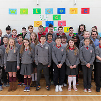 6th Class Studnts withTeacher Brian Curtin and Tom Glynn