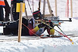 WICKER Anja, GER, Biathlon Pursuit, 2015 IPC Nordic and Biathlon World Cup Finals, Surnadal, Norway