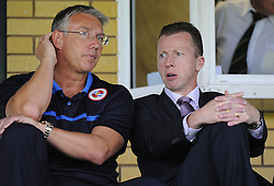 Reading Manager, Nigel Adkins - Photo mandatory by-line: Joe Meredith/JMP - Mobile: 07966 386802 19/07/2014 - SPORT - FOOTBALL - Yeovil - Huish Park - Yeovil Town v Reading