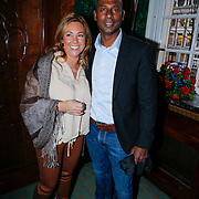 NLD/Amsterdam/20121203 - Presentatie LAF Femme, Aron Winter en partner Yvonne Roose