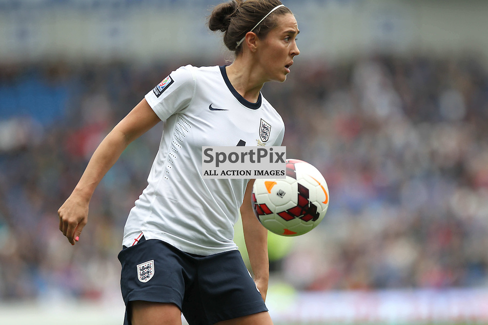 England's Fara Williams during the FIFA Women's World Cup qualifier match between England and Montenegro at the American Express Community Stadium, Brighton, 5th April 2014 © Phil Duncan | SportPix.org.uk
