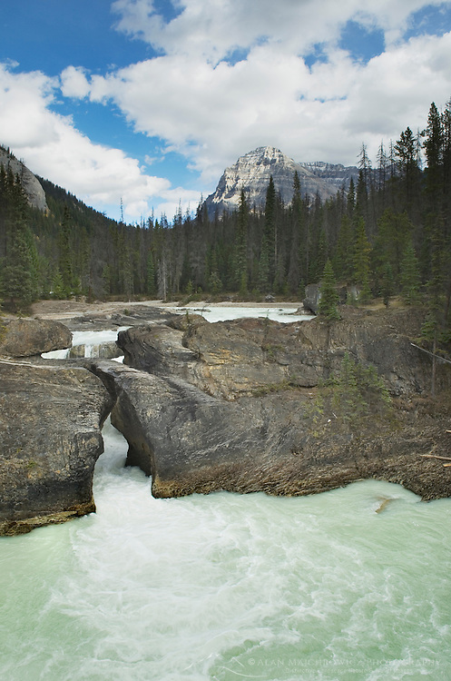 Natural Bridge on the Kicking Horse River, Yoho National Park British Columbia