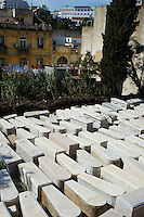 Maroc, Tanger, cimetiare juif // Morocco, Tangier (Tanger), Jew cemetery