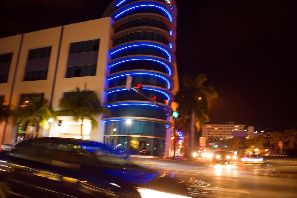 Miami Beach, Nachtleben..Florida 2009..Foto © Stefan Falke.