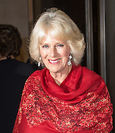 Camilla, Duchess of Cornwall arrives to present The 2015 Man Booker Prize at The Guildhall in London