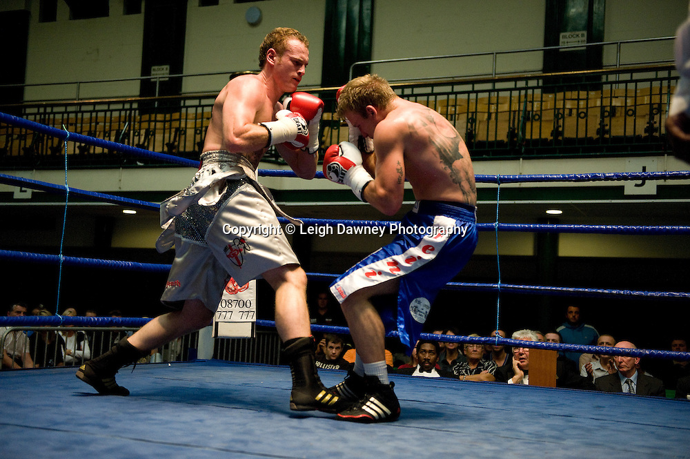 George Groves v Martins Kukulis at York Hall 4th October 2009. Promoted by David Coldwell,Hayemaker Promotions Credit: ©Leigh Dawney Photography