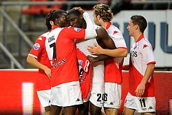 23-10-2009 VOETBAL: FC UTRECHT - RODA: UTRECHT<br /> Utrecht wint met 2-1 van Roda / Jacob Mulenga scoort de 1-0 en Dries Mertens, Jacob Lensky en Loic Loval<br /> ©2009-WWW.FOTOHOOGENDOORN.NL