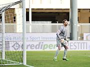 Udine, 06 gennaio 2015<br /> Serie A 2014/2015. 17^ giornata.<br /> Stadio Friuli.<br /> Udinese vs Roma<br /> Nella foto: il portiere della Roma Morgan De Sanctis.<br /> © foto di Simone Ferraro