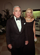 Alfonso Fanjul chairman and CEO, Florida Crystals Corp and fiancé Lourdes Gutierrez arrive for the State Dinner for Argentine President Carlos Menem January 11, 1999 at the White House.