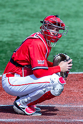 NORMAL, IL - April 08: Tyson Hays during a college baseball game between the ISU Redbirds  and the Missouri State Bears on April 08 2019 at Duffy Bass Field in Normal, IL. (Photo by Alan Look)