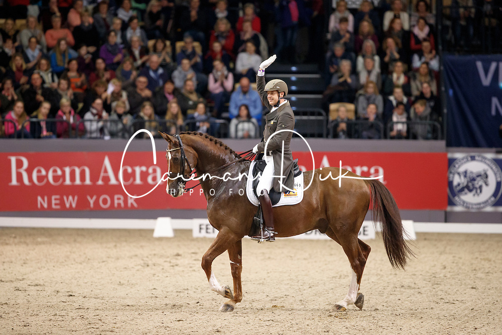 Van Der Meer Patrick, (NED), Zippo<br /> FEI World Cup Dressage Grand Prix Freestyle<br /> FEI World Cup Neumünster - VR Classics 2017<br /> © Hippo Foto - Stefan Lafrentz