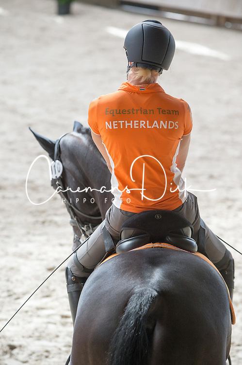 Den Dulk Nicole, (NED), Wallace NOP<br /> Para-Dressage FEI European Championships Deauville 2015<br /> &copy; Hippo Foto - Jon Stroud<br /> 16/09/15