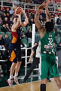 DESCRIZIONE : Avellino Lega A 2014-15 Sidigas Avellino Acea Virtus Roma<br /> GIOCATORE : Maxime De Zeeuw<br /> CATEGORIA : tiro tre punti<br /> SQUADRA : Acea Virtus Roma<br /> EVENTO : Campionato Lega A 2014-2015<br /> GARA : Sidigas Avellino Acea Virtus Roma<br /> DATA : 13/12/2014<br /> SPORT : Pallacanestro <br /> AUTORE : Agenzia Ciamillo-Castoria/A. De Lise<br /> Galleria : Lega Basket A 2014-2015 <br /> Fotonotizia : Avellino Lega A 2014-15 Sidigas Avellino Acea Virtus Roma