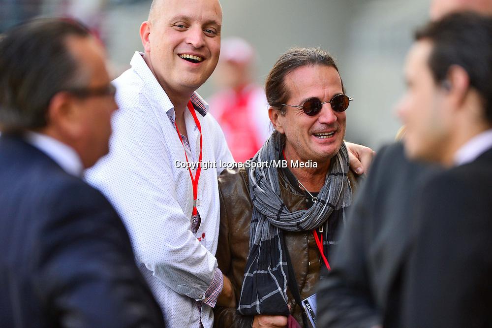 Francis LALANNE  - 12.04.2015 - Reims / Nice - 32eme journee de Ligue 1 <br />Photo : Dave Winter / Icon Sport