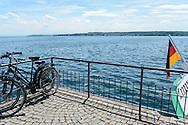 Überlingen petite ville médiévale située au bord du lac de Constance, Bade-Wurtemberg,Allemagne  / Medieval town Überlingen on Lake Constance, Baden-Württemberg, Germany.