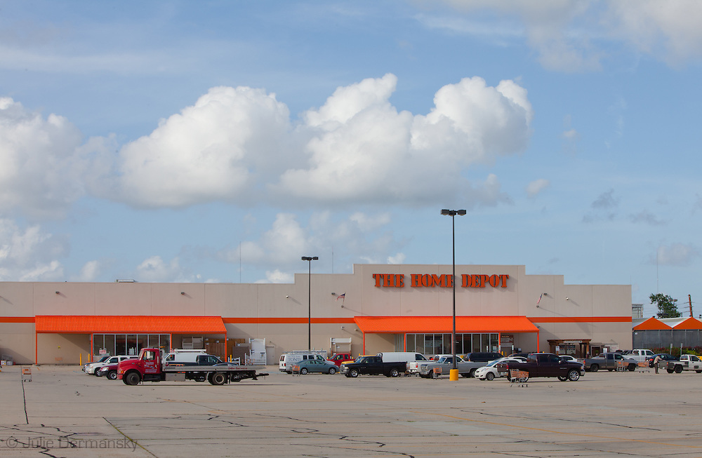 Home Depot hardware store in Chalmette Louisiana in an area that was devastated by hurricane Katrina that has since recovered.