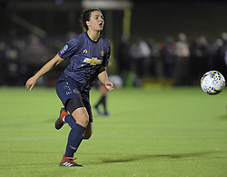 February 20, 2019 - Sheffield, United Kingdom - Jess Sigsworth in action during the  FA Women's Championship football match between Sheffield United Women and Manchester United Women at the Olympic Legacy Stadium, on February 20th Sheffield, England. (Credit Image: © Action Foto Sport/NurPhoto via ZUMA Press)