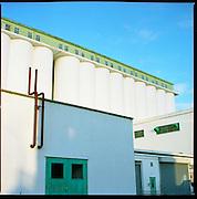 Shredded Wheat Factory, Welwyn Garden City, Hertfordshire. January 2010