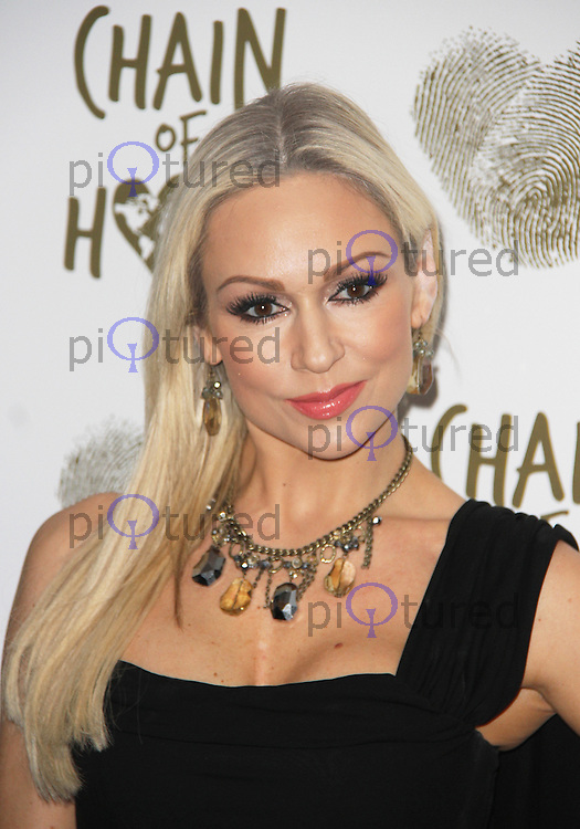 Kristina Rihanoff, Chain of Hope Annual Ball 2014, Grosvenor House, London UK, 21 November 2014, Photo By Brett D. Cove