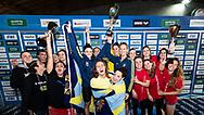 CC Aniene Primo Classificato, Azzurra 91 Secondo Classificato, In Sport Rane Rosse Terzo Classificato<br /> Serie A1 Femminile<br /> Finale Coppa Brema 2019  di Nuoto <br /> 07/04/2019<br /> Nuoto Swimming Campionato italiano a Squadre<br /> , vasca 25 metri<br /> Stadio del Nuoto di Riccione<br /> Photo © Giorgio Scala/Deepbluemedia/Insidefoto