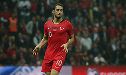 November 15, 2019: Turkey's  Hakan Calhanoglu during the Euro 2020 group H qualifying soccer match between Turkey and Iceland at Turk Telekom Stadium in Istanbul, Turkey, Wednesday November 14, 2019. (Credit Image: © Tolga Adanali/Depo Photos via ZUMA Wire)