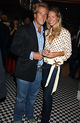 BEN FOGLE and MARINA HUNT  at a party to launch the Frankie's TLC Card and the TLC Clubcard held at Frankie's Knightsbridge, 3 Yeomans Row, London SW3 on 1st February 2006.<br /><br />NON EXCLUSIVE - WORLD RIGHTS