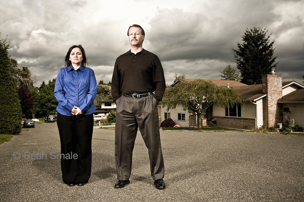Curt and Edda Knox, Parents of accused killer Amanda Knox, who is currently on trial in Italy for the murder of her roommate  Meredith Kercher.  Photographed near Seattle, WA.