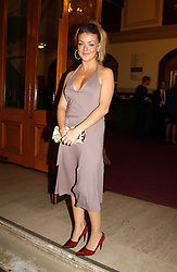 Actress SHERIDAN SMITH at the return of Dralion to celebrate the Cirque Du Soleil's 20th Anniversary at the Royal Albert Hall, London on 6th January 2005.<br />