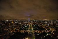 Esplanade des Invalides, Hotel des Invalides and Tour Montparnasse.