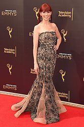 Carrie Preston bei der Ankunft zur Verleihung der Creative Arts Emmy Awards in Los Angeles / 110916 <br /> <br /> *** Arrivals at the Creative Arts Emmy Awards in Los Angeles, September 11, 2016 ***