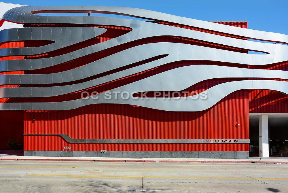 The Petersen Automotive Museum Building Side Detail