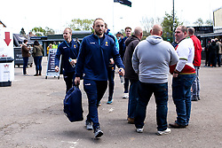 Chris Pennell of Worcester Warriors arrives at Northampton Saints - Mandatory by-line: Robbie Stephenson/JMP - 04/05/2019 - RUGBY - Franklin's Gardens - Northampton, England - Northampton Saints v Worcester Warriors - Gallagher Premiership Rugby