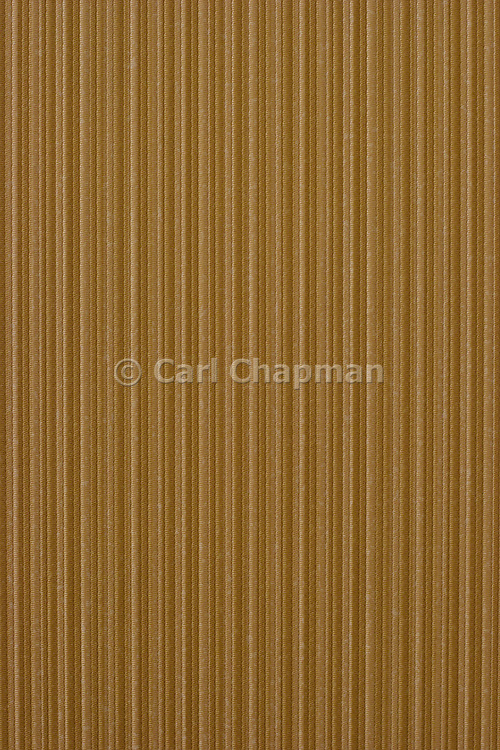 Brown cloth woven striped wallpaper