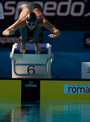 Anja Klinar of Slovenia during the Women's  400m Individual Medley Heats during the 13th FINA World Championships Roma 2009, on August 2, 2009, at the Stadio del Nuoto,  in Foro Italico, Rome, Italy. (Photo by Vid Ponikvar / Sportida)