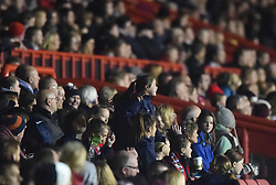 Over 2,400 spectators at Ashton Gate as Bristol Academy Women face FC Barcelona in UEFA Women's Champions League - Photo mandatory by-line: Paul Knight/JMP - Mobile: 07966 386802 - 13/11/2014 - SPORT - Football - Bristol - Ashton Gate Stadium - Bristol Academy v FC Barcelona - UEFA Women's Champions League