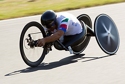 Alessandro Zanardi of Italy competes during Men's Individual H 4 Time Trial during Day 8 of the Summer Paralympic Games London 2012 on September 5, 2012, in Brands Hatch circuit near London, Great Britain. (Photo by Vid Ponikvar / Sportida.com)