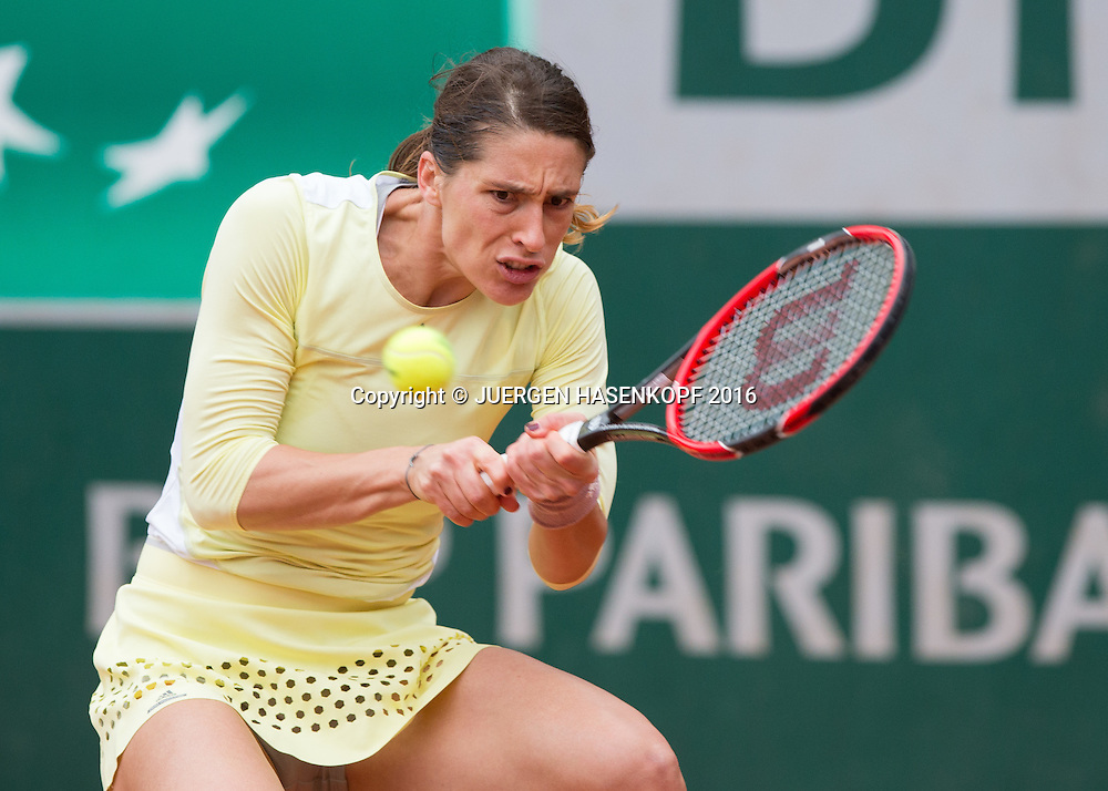 Andrea Petkovic (GER)<br /> <br /> Tennis - French Open 2016 - Grand Slam ITF / ATP / WTA -  Roland Garros - Paris -  - France  - 24 May 2016.