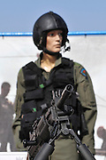 Israel, Tel Nof IAF Base, An Israeli Air force (IAF) exhibition Pilot's G suit