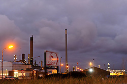 The Petroplus Holdings AG, oil refinery at the Port of Antwerp, in Antwerp, Belgium, Friday, Jan. 6, 2012. (Photo © Jock Fistick)
