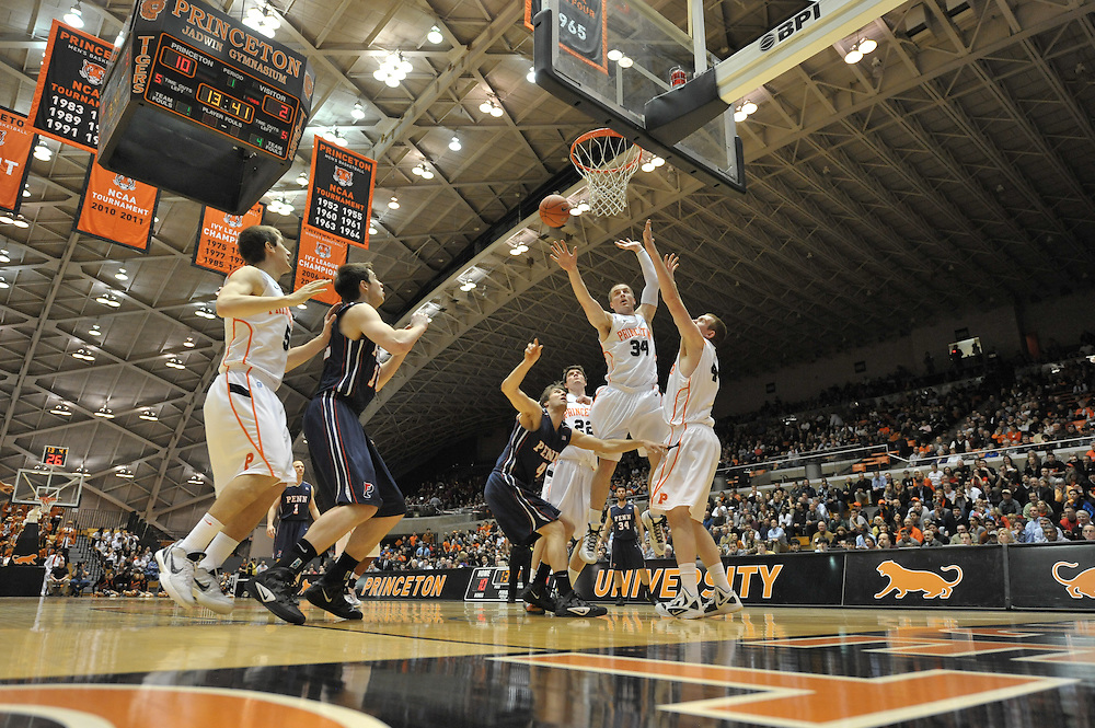 PRINCETON, NJ - MARCH 6: at Jadwin Gym on March 6, 2012 in Princeton, New Jersey. Princeton won 62-52. (Photo by Drew Hallowell)  *** Local Caption ***