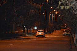 April 4, 2017 - Ankara, Etimesgut, Turkey - Streets at night in Ankara. Ankara is formerly known as Ancyra and Angora, is the capital of the Republic of Turkey. (Credit Image: © Altan Gocher/Pacific Press via ZUMA Wire)