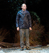 Neville's Island <br /> by Tim Firth <br /> at Duke of York's Theatre, London, Great Britain <br /> 17th October 2014 <br /> press photocall<br /> <br /> <br /> Robert Webb as Roy <br /> <br /> <br /> <br /> <br /> <br /> <br /> Photograph by Elliott Franks <br /> Image licensed to Elliott Franks Photography Services