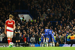 Goal, Nemanja Matic of Chelsea scores, Chelsea 3-0 Middlesbrough - Mandatory by-line: Jason Brown/JMP - 08/05/17 - FOOTBALL - Stamford Bridge - London, England - Chelsea v Middlesbrough - Premier League