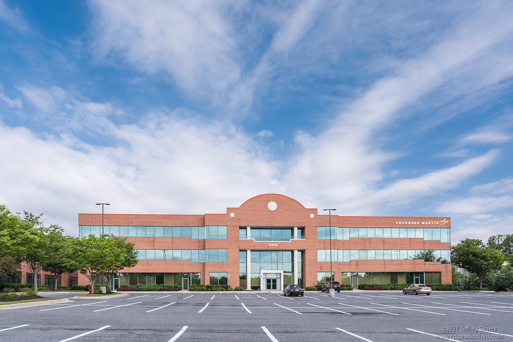 Exterior Image of Executive Park West in Baltimore Maryland by Jeffrey Sauers of Commercial Photographics, Architectural Photo Artistry in Washington DC, Virginia to Florida and PA to New England