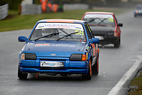 #58 Michael Taylor Ford Escort XR3i during Lee Bowron Ltd XR Challenge - Qualifiying  as part of the Easter Family Fun Day - Oulton Park Fosters at Oulton Park, Little Budworth, Cheshire, United Kingdom. March 28 2016. World Copyright Peter Taylor/PSP. Copy of publication required for printed pictures.  Every used picture is fee-liable. http://archive.petertaylor-photographic.co.uk