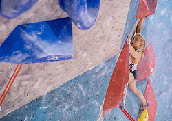 Janja Garnbret during training competition of Slovenian National Climbing team before new season, on June 30, 2020 in Koper / Capodistria, Slovenia. Photo by Vid Ponikvar / Sportida